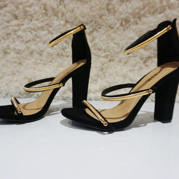 black velvet sandal heels
